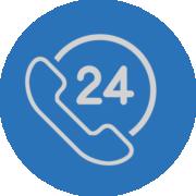 24 hour response